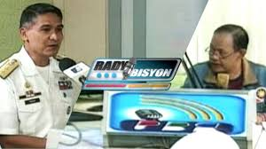 Flag Officer In Command Philippine Navy Radyobisyon Guest Rear Admiral Caesar Taccad Episode 209 09