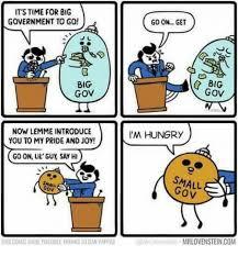 Wrrrry Meme - its time for big government to go go on get big gov big gov now
