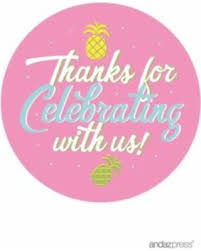 party favor labels here s a great deal on birthday circle party favor gift