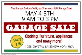 customizable design templates for garage sale poster postermywall