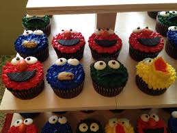 Oscar The Grouch Pumpkin Decorating by Tammy Is Blessed Big Bird Sesame Street Characters Cupcake
