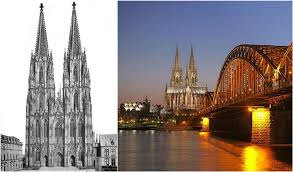germany s largest cathedral in cologne took 632 years of construction