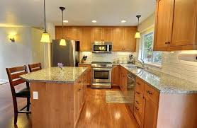 hickory cabinets with granite countertops hickory cabinet with granite countertop kitchen cabinets with