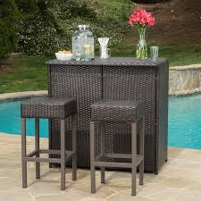 Resin Wicker Patio Dining Sets Enjoy Your Summer With Outdoor Wicker Furniture 50 Idea Photos