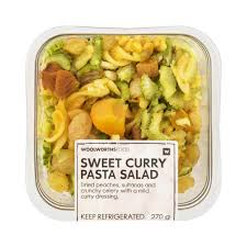 sweet curry pasta salad 270g woolworths co za