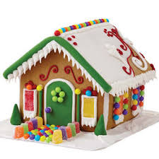 Gingerbread House Decoration Build It Yourself Wilton Gingerbread House Decorating Kit