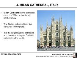 milan cathedral floor plan 3 gothic period