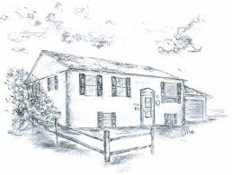 drawing home awesome design 9 drawing of home pencil house drawings gallery