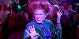 hocus pocus halloween costume bette midler reprises u0027hocus pocus u0027 role for hulaween costume