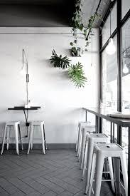 Black And White Design by Best 20 White Cafe Ideas On Pinterest White Restaurant Cafe