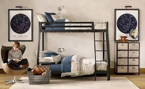 Restoration Hardware Bunk Bed Contemporary Bedroom With Bunk Beds Egg Chair Zillow Digs