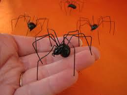 Halloween Spider Crafts by Large Black Widow Spider Realistic Black Widows Handmade