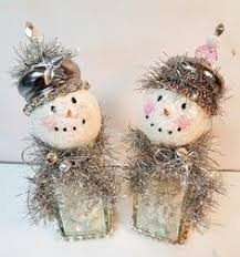 rudolph the raindeer snow shaker ornaments by shadesofakasha