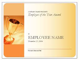 29 images of employee of the week certificate template infovia net