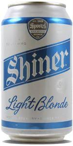shiner light blonde carbs showing our co love with co beer new belgium shift pale lager