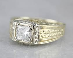 antique diamond ring etsy