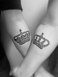 tattoo of queen and king 40 best king queen tattoos for couples in love