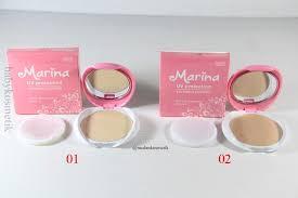 Bedak Marina bedak marina uv protection compact powder toko kecantikan