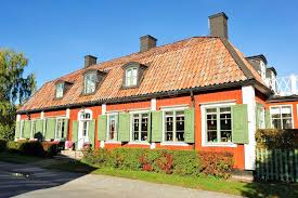 swedish country swedish country house editorial stock image image of building