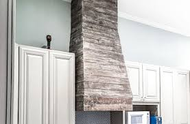 kitchen cabinets made out of pallet wood how to diy finish a custom pallet wood range vent cover