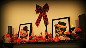 impeccable fireplace halloween inspiring design featuring