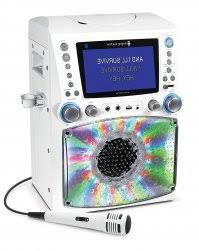 karaoke machine with disco lights amazon com singing machine stvg785btw bluetooth karaoke machine