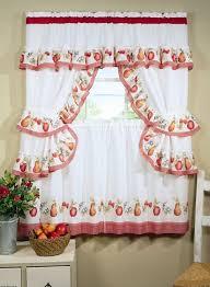 Cherry Kitchen Curtains by Kitchen Fabulous New Kitchen Designs Custom Curtains Kitchen