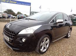 peugeot crossover used used peugeot 3008 cars for sale in exeter devon motors co uk