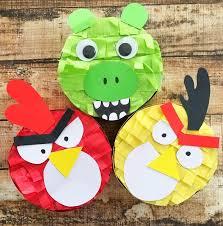 angry birds idea mini piñata favors