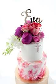 How To Decorate Christening Cake Ditsy Flower Baby Christening Cake With Cute Little Letter