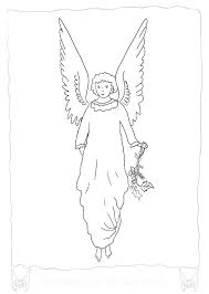 coloring page angel visits joseph coloring page angel coloring pages angels angel coloring page angels