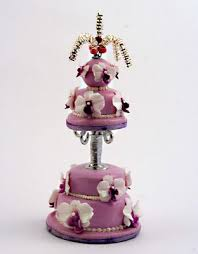 the mini food blog orchid wedding cake linda cummings