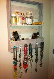and jewelry 25 best pallet jewelry holder ideas on jewelry