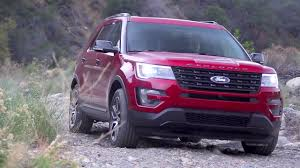 Ford Explorer Blue - 2016 ford explorer review and road test youtube