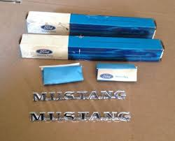 nos ford mustang parts 2 1965 ford mustang nos fender emblems mustang nos ford parts