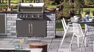 how to build an outdoor bbq kitchen youtube