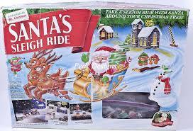 mr christmas le chat noir boutique mr christmas santa s sleigh ride animated