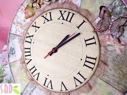sweet bio design orologio shabby chic shabby chic clock