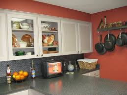 Red Kitchen Backsplash Ideas Kitchen Contempo Kitchen Decoration Ideas Using Black Wood