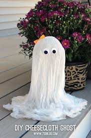 best 25 cheesecloth ghost ideas on pinterest cheesecloth
