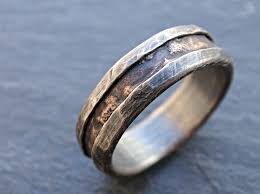 alternative wedding ring buy a made cool mens ring alternative wedding band rugged