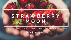 full strawberry moon summer solstice with june s strawberry moon yoga goddess