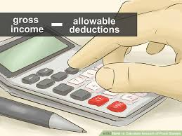 how to calculate amount of food stamps 13 steps with pictures