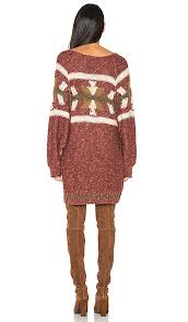 Free Northern Lights Sweater In Chic Free Northern Lights Sweater Mini Dress In Combo