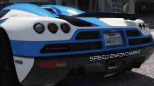 koenigsegg gta 5 koenigsegg ccx pursuit police add on replace template