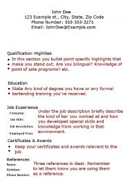 Special Skills On Resume Example by Examples Of Bartender Resumes Sample Bartender Resume Sample