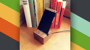 diy wood charging station this diy wooden phone charging dock looks great on your desk