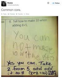 Common Core Meme - kid shows exactly why the common core math doesn t add up