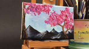 Peinture Cerisier Japonais by Peindre Sans Se Plaindre