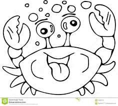 simple crab coloring page crab coloring pages example coloring